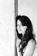 Retrato em preto e branco