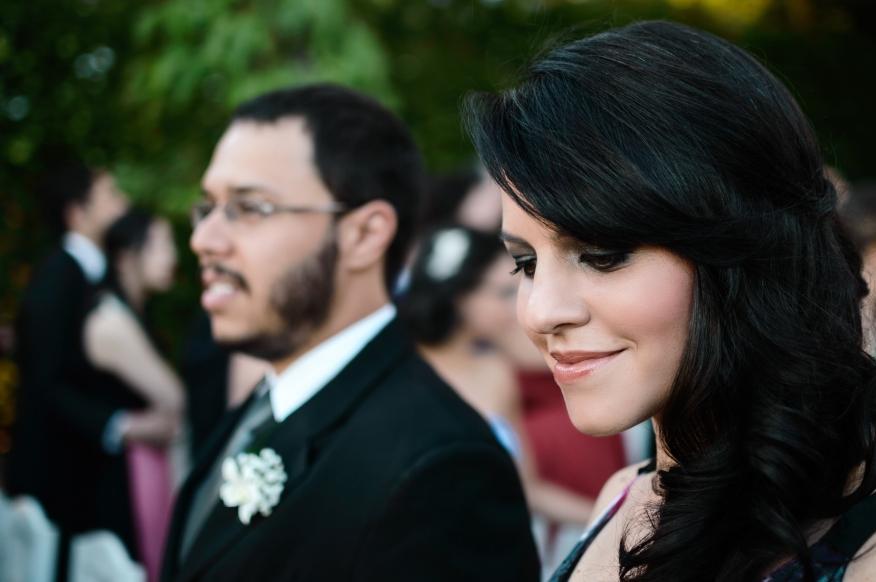 Retrato de padrinhos de casamento - LB Fotografia