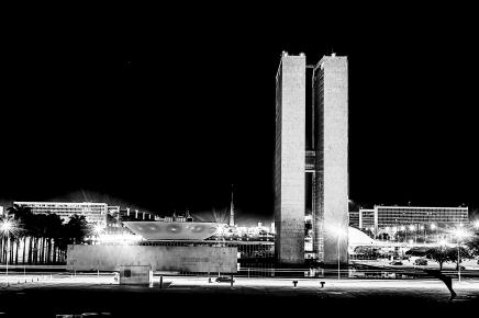 Brasília em Preto e Branco-34